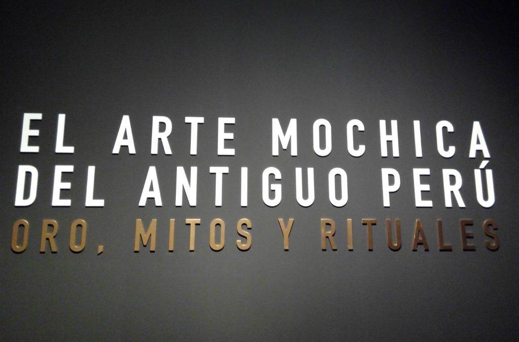 Exposición Arte Mochica del Antiguo Perú, Oro, Mitos y Rituales en CaixaForum
