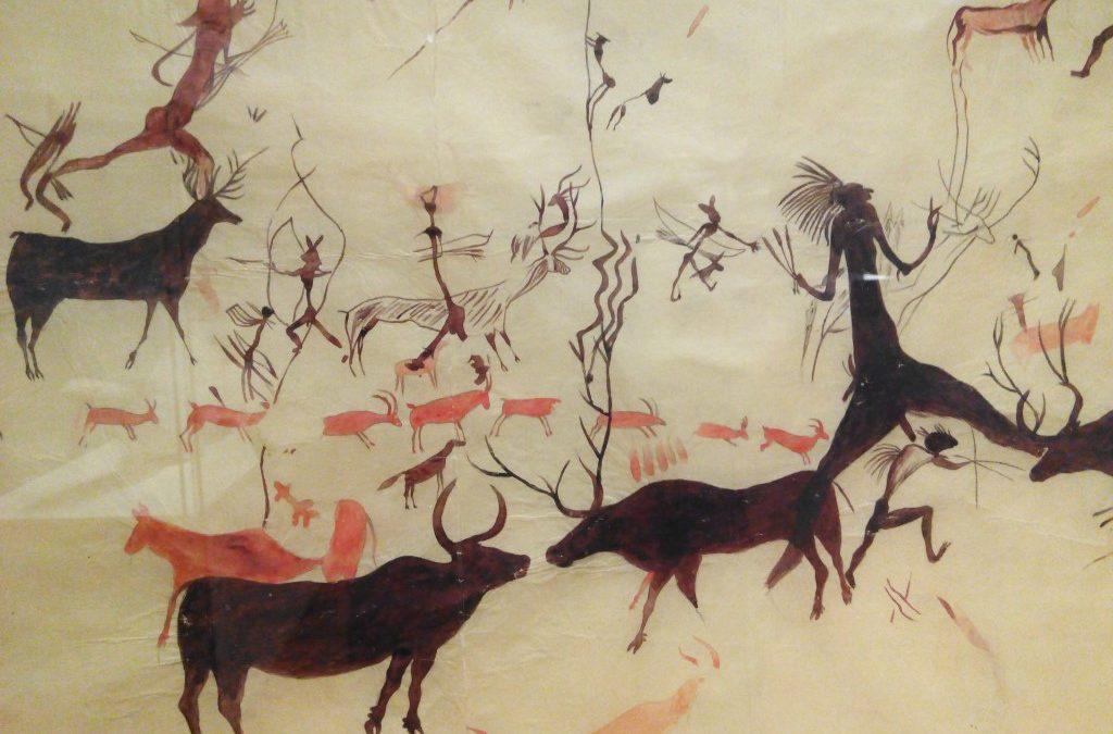 Exposición Arte y Naturaleza en la Prehistoria. La colección de calcos de arte rupestre de MNCN
