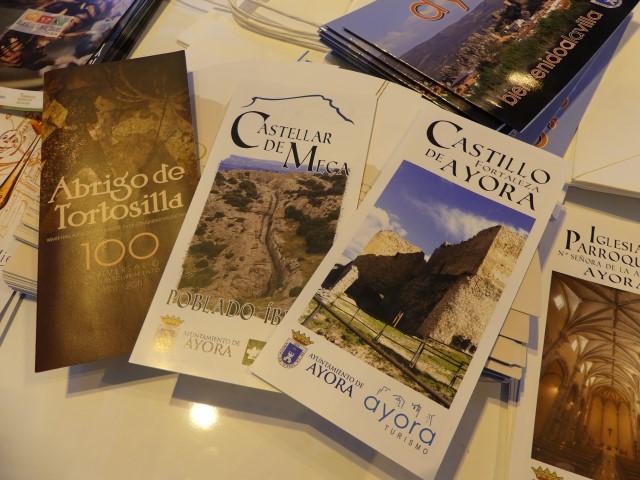 25.- Castellar de Meca, Abrigo de Tortosilla y Castillo Fortaleza de Ayora