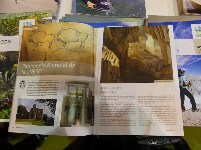 81.- Arte rupestre paleolítico de Asturias