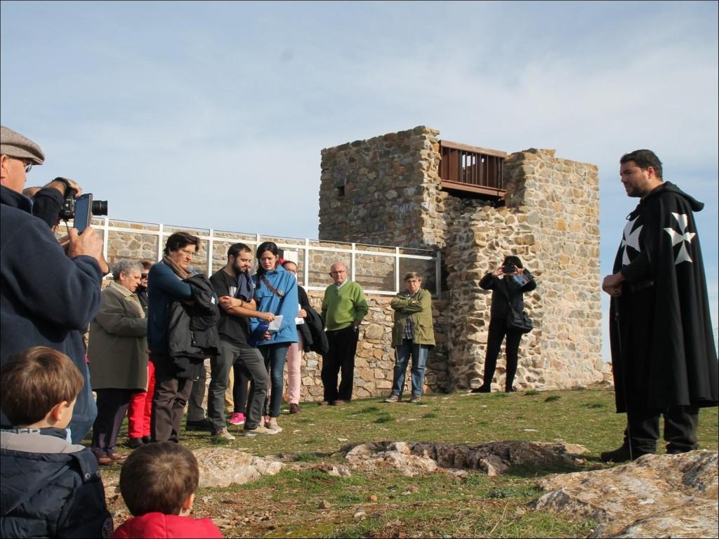 Aracena y Aroche promocionan juntas sus Castillos en FITUR con la 'Ruta de la Reconquista'