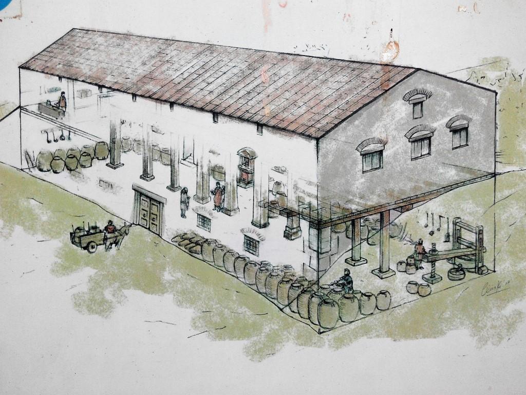 Reconstrucción de la Villa Romana de las Musas en Arellano - Fotografía ArqueoTrip ©