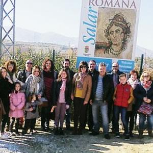 Visita a Villa Romana de Salar 03