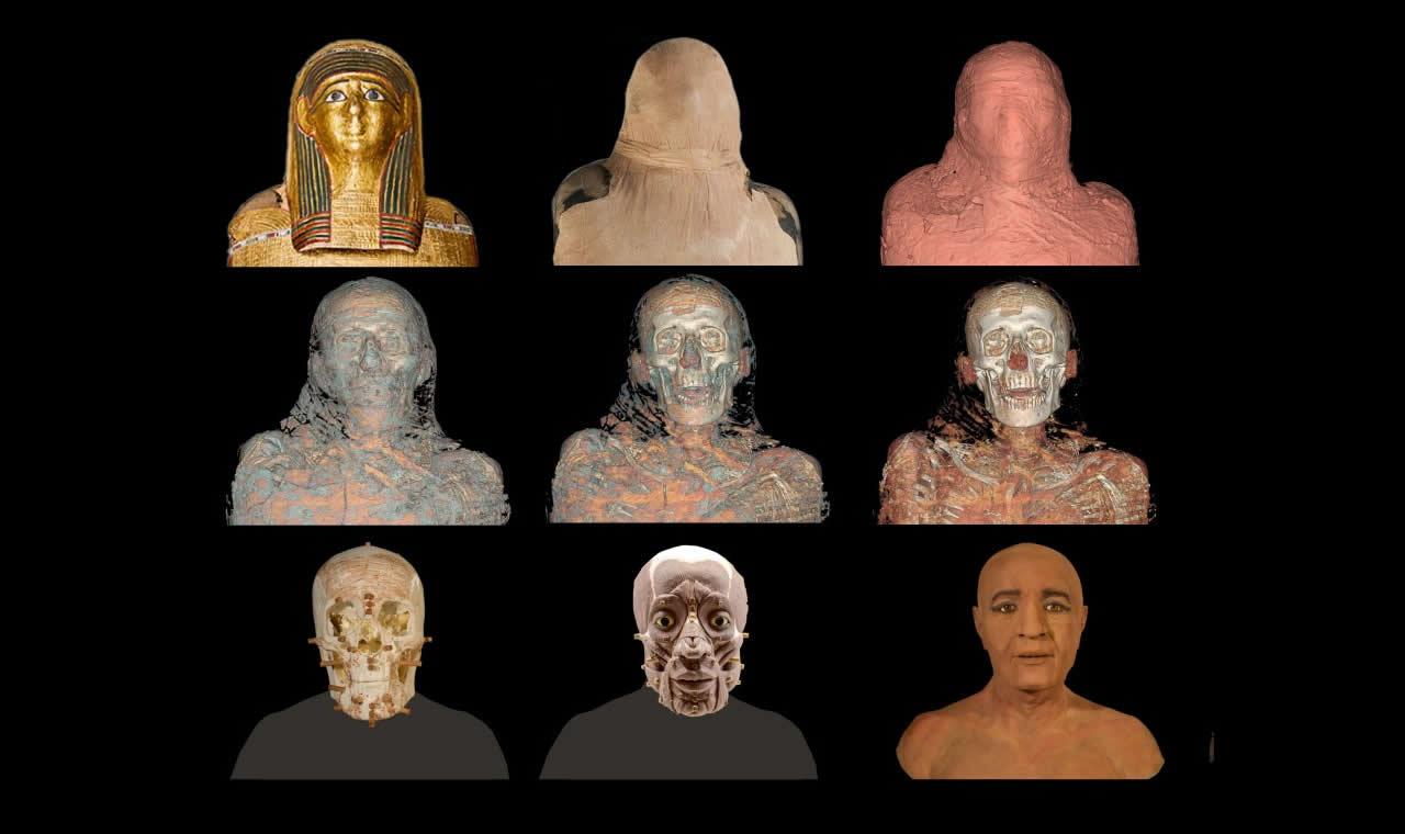 Nespamedu, sacerdote de Imhotep y médico del faraón. La historia secreta de las momias