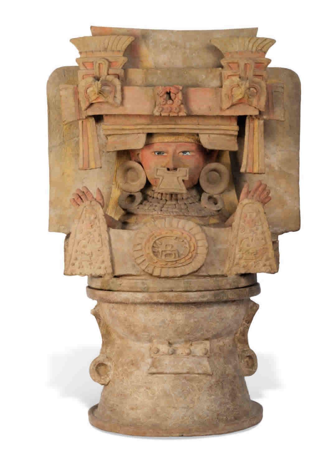 Incensario de estilo teotihuacano