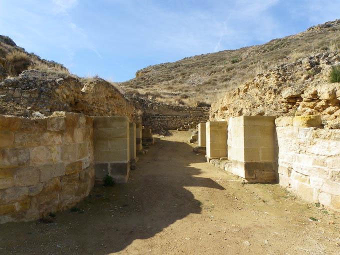 Puerta sur Contrebia Leucade ArqueoTrip