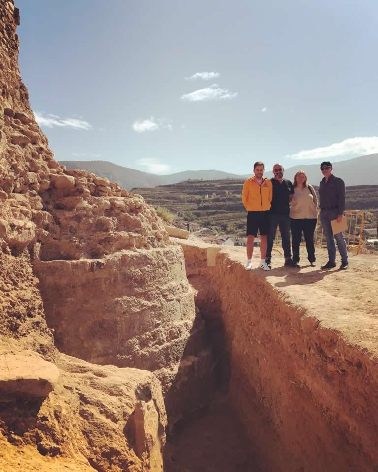 Excavaciones del Castillo de Nalda 03