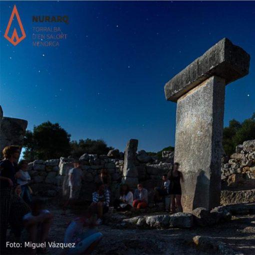 luna llena en Torralba d'en Salort ArqueoTrip 02