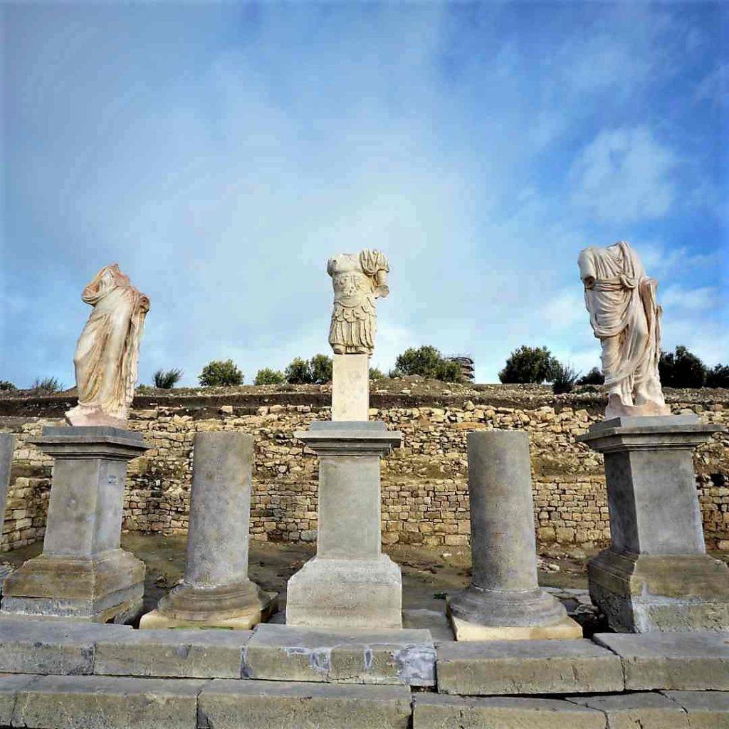 Foro del Parque Arqueológico de Torreparedones