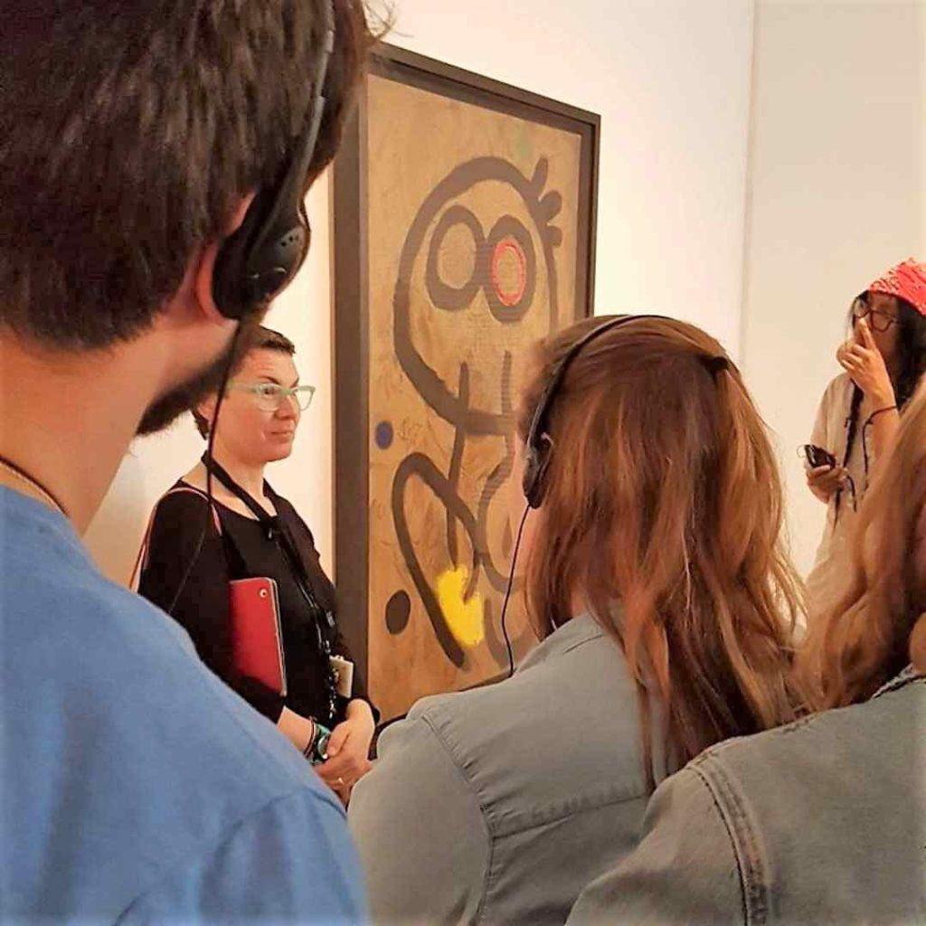 Núria Pujol educadora de museos