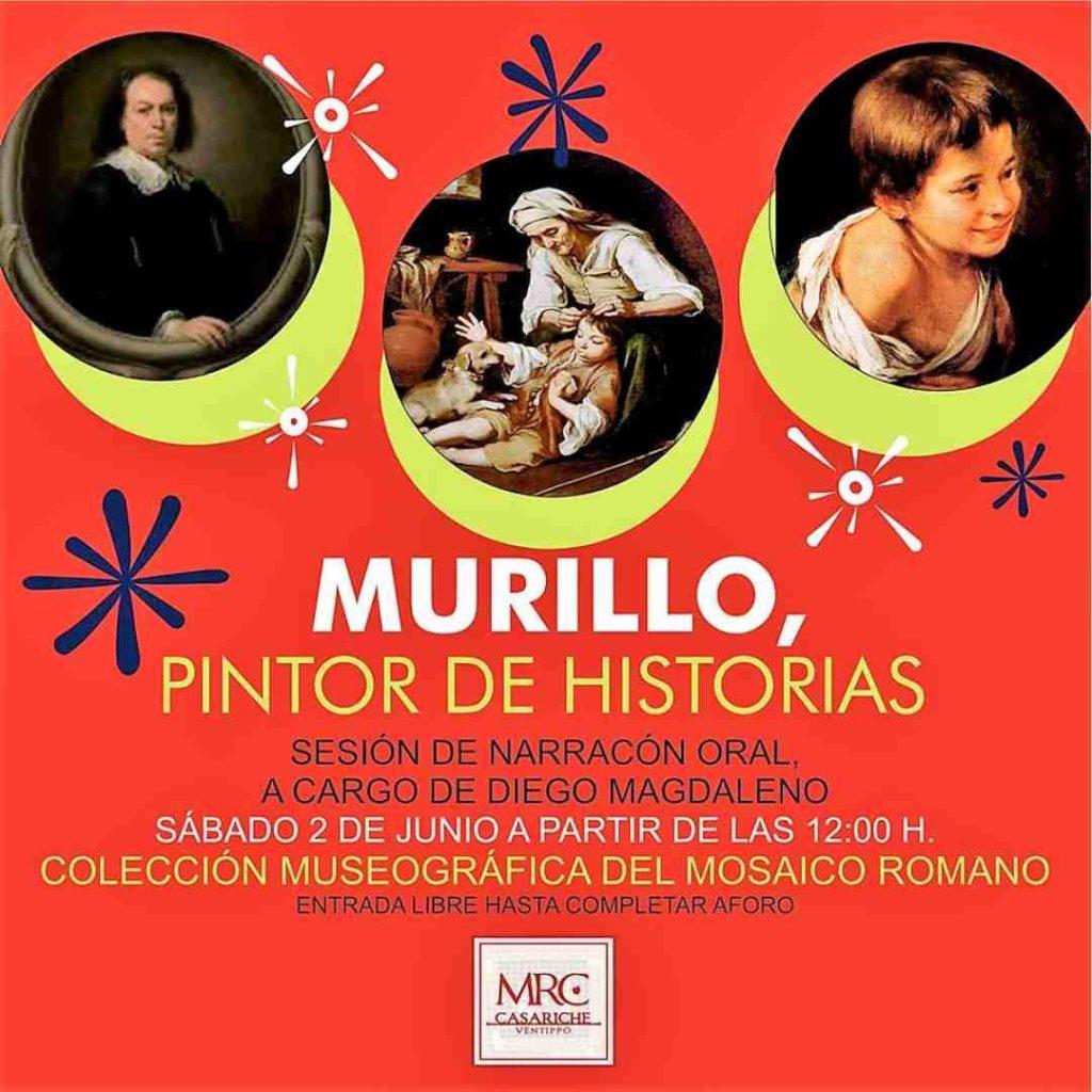 Cartel de la exposiciones temporal sobre Murillo