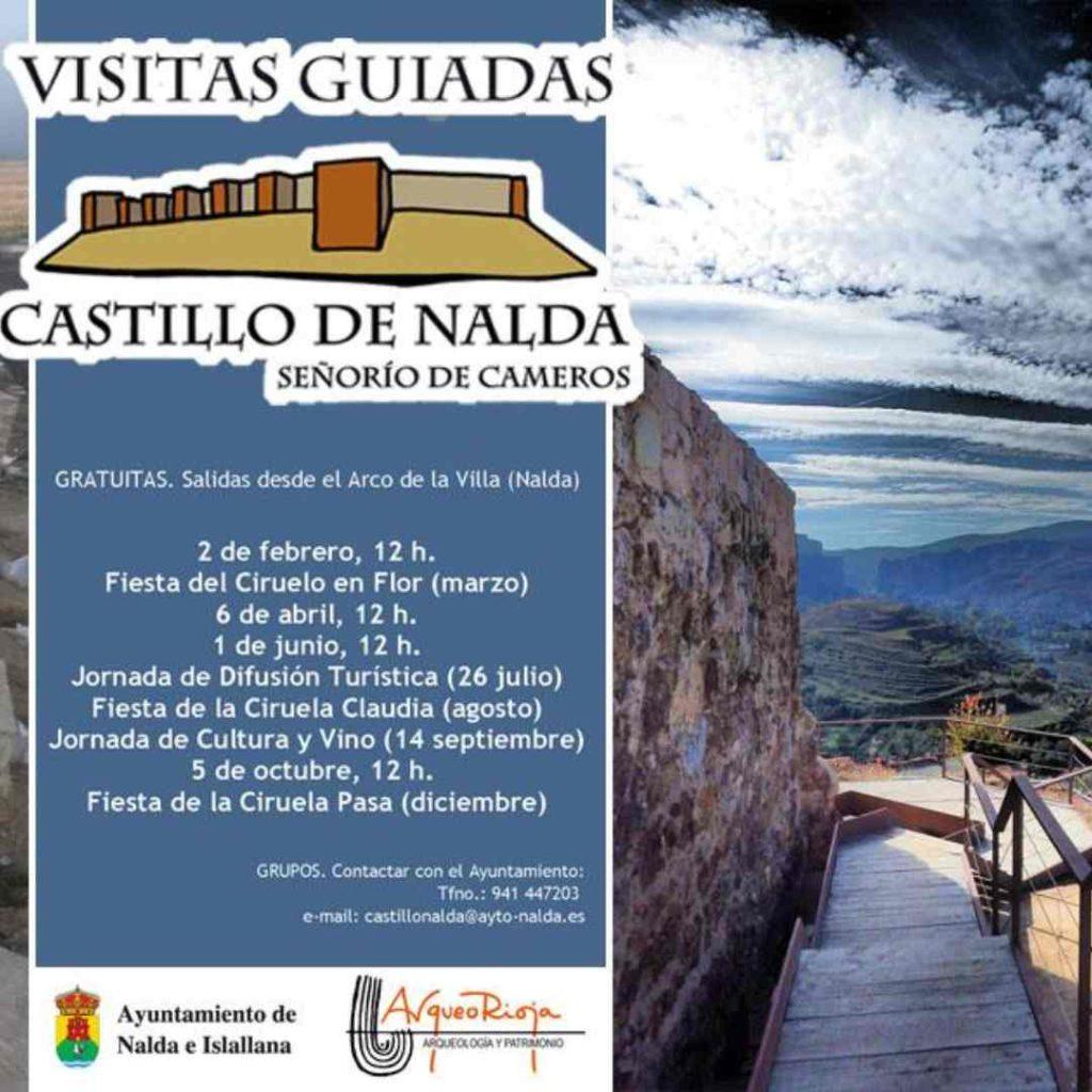 Programa de visitas guiadas al Castillo de Nalda e Islallana