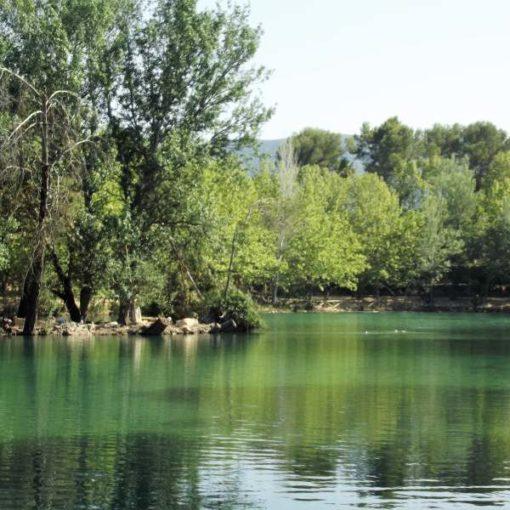 Lago en La Canal de Navarrés