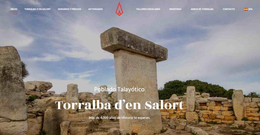 Página web de Nurarq con toda la información de sus actividades