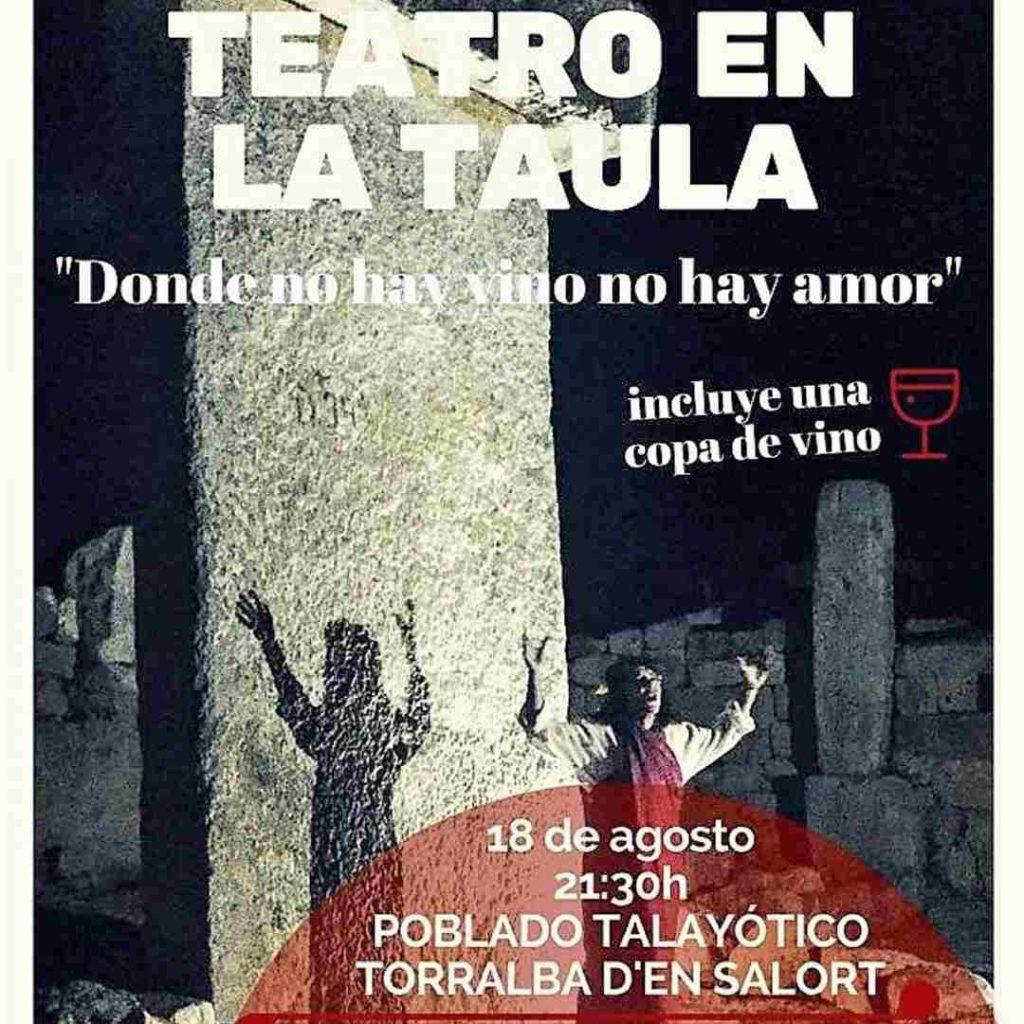 Teatro en la Taula de Torralba d'en Salort