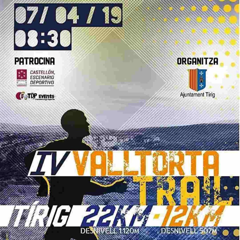 Cartel de Valltorta Trail 20119