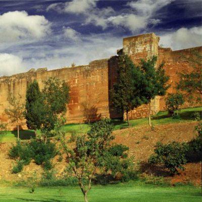 Muralla y jardines de Niebla