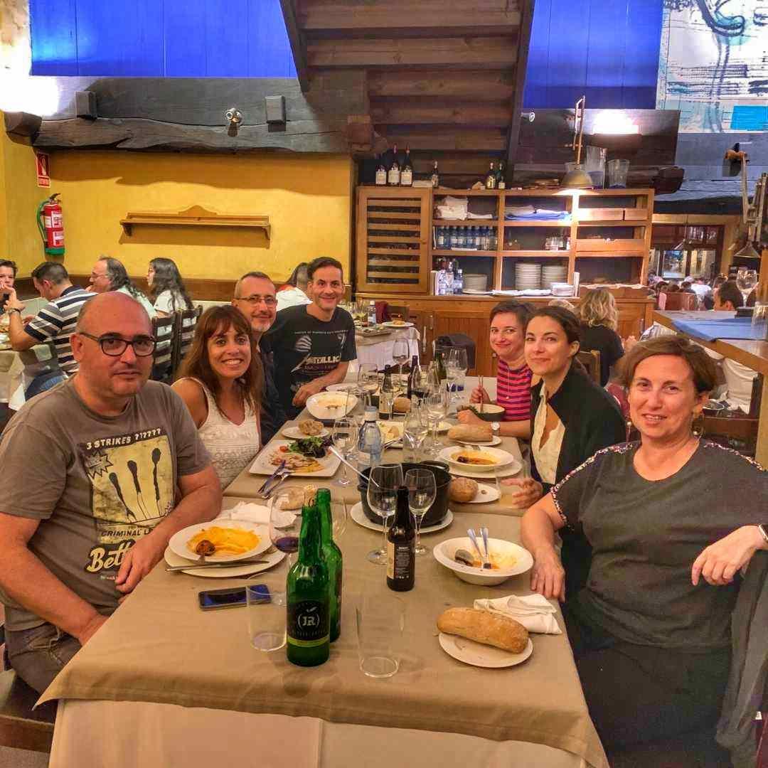 Comida de bloggers en Gijón