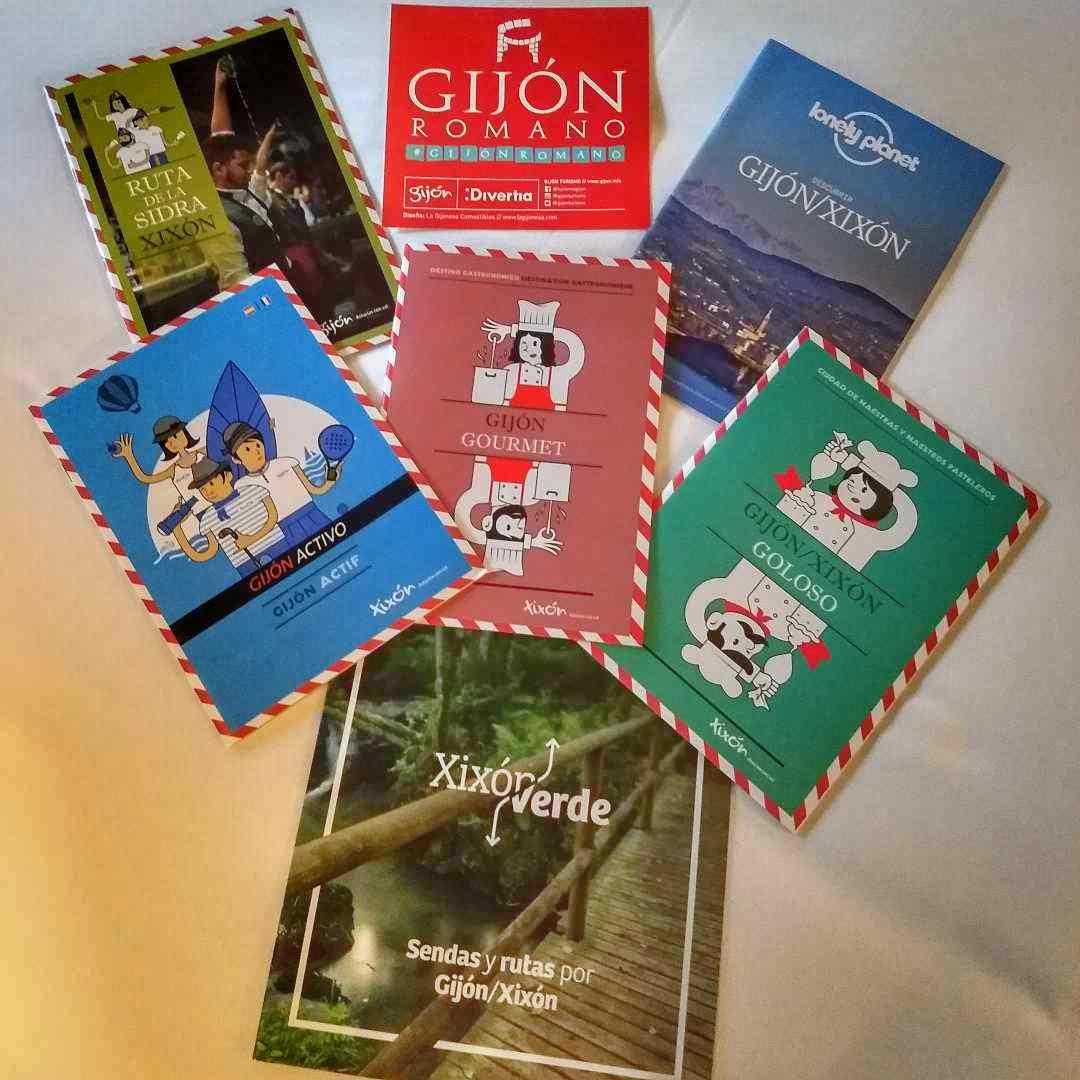 Catálogos de turismo de Gijón