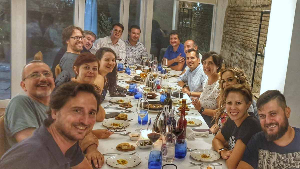 Foto de grupo BlogTrip de Jaén