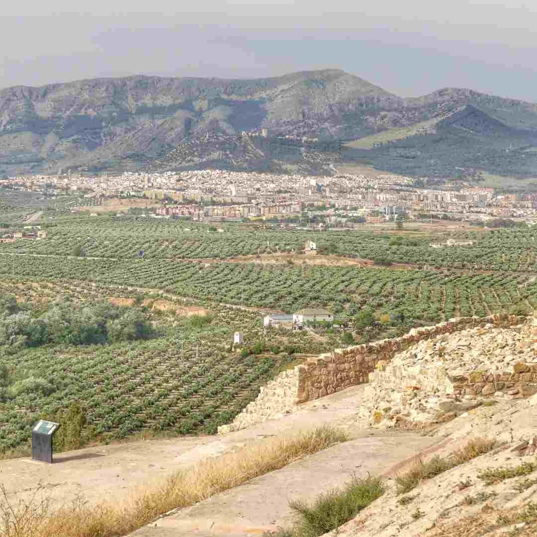 Yacimiento de Puente Tablas y Jaén