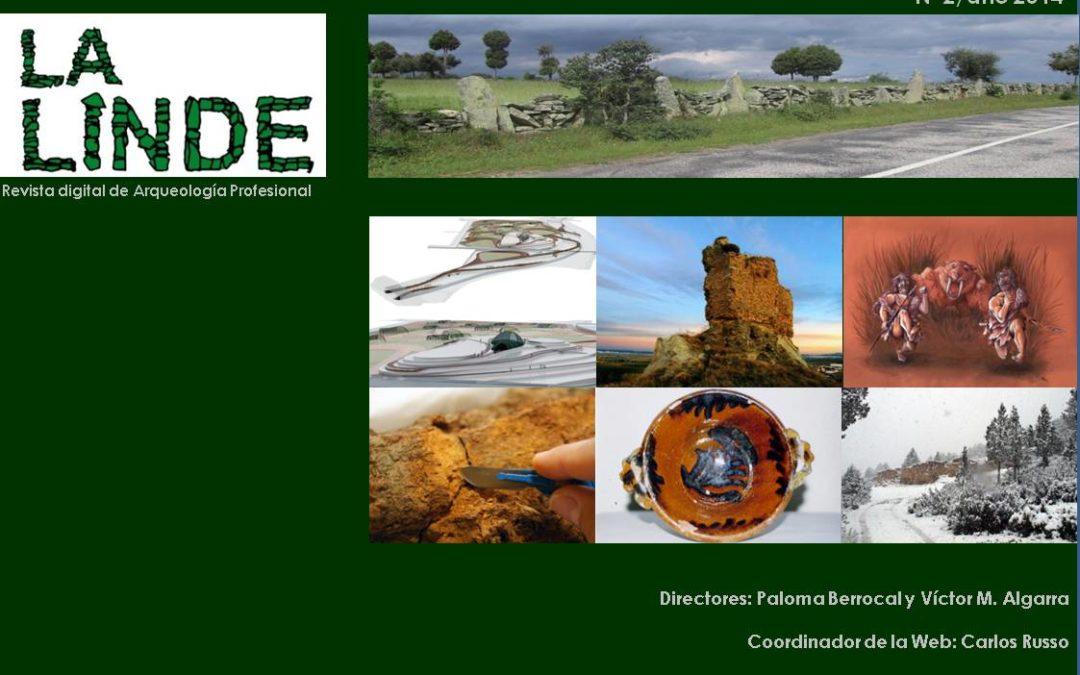 Entrevista a Paloma Berrocal y Víctor M. Algarra, Directores de La Linde, revista digital de arqueología profesional