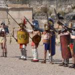 Entrevista a Cristina Sánchez, presidenta de Ludus Gladiatorium Vulcanum, grupo de recreación histórica romana y medieval