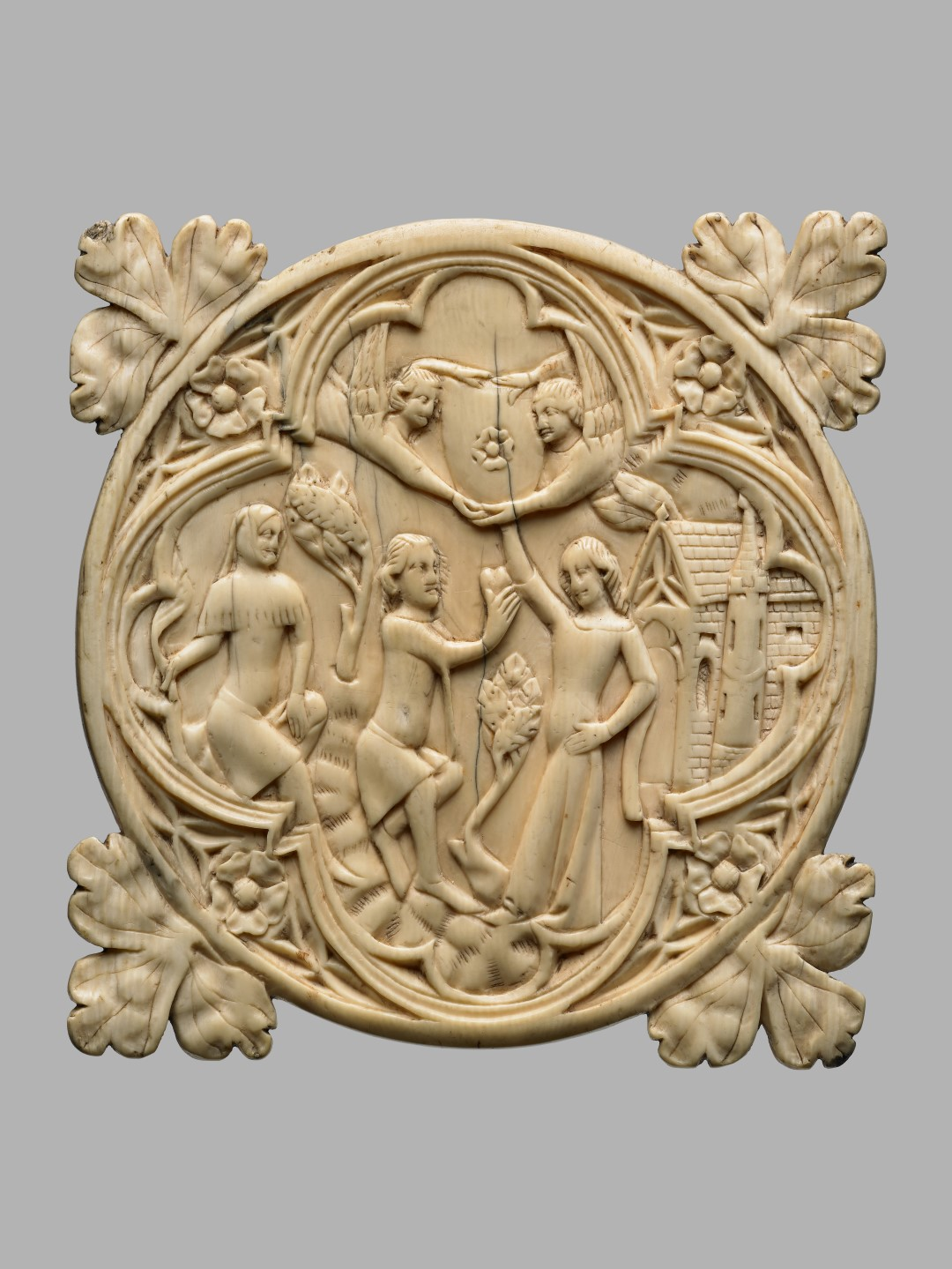 Estuche para espejo 1370-1400 Francia