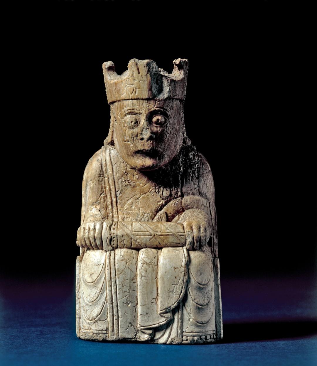 Rey del juego de ajedrez de Lewis 1150-1200