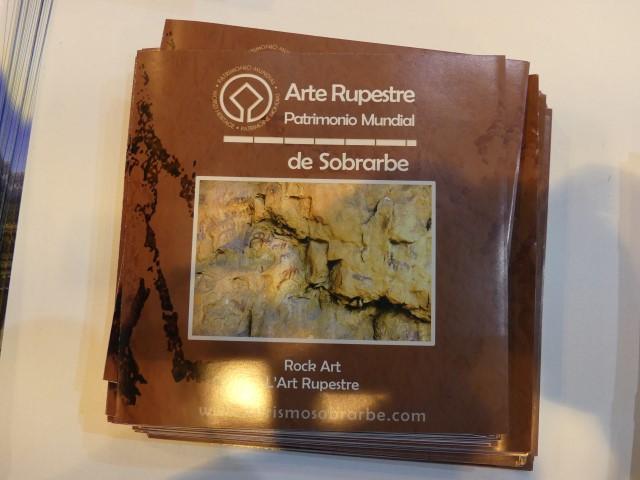 40.- Arte rupestre de Sobrabe
