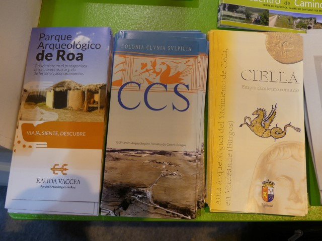 46.- Parque Arqueológico de Roa, 47.- Clunia en Peñalba de Castro, 48.- Aula arqueológica del yacimiento de Ciella en Valdeande