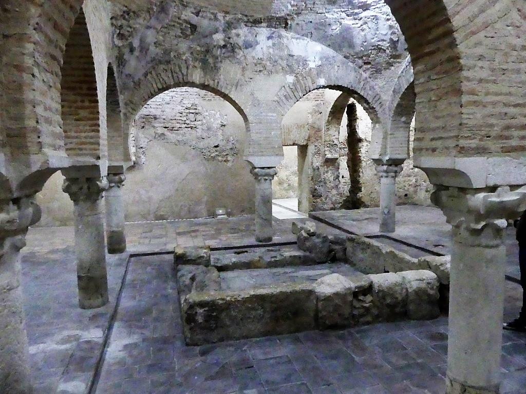 Baños árabes. Palacio de Villardompardo ArqueoTrip