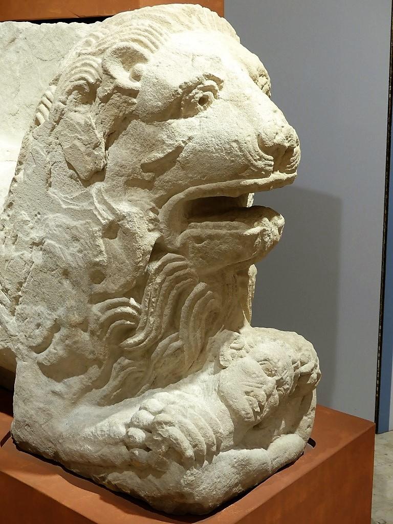 Ciudad íbero-romana de Cástulo. Mosaico de los Amores - Fotografía ArqueoTrip ©