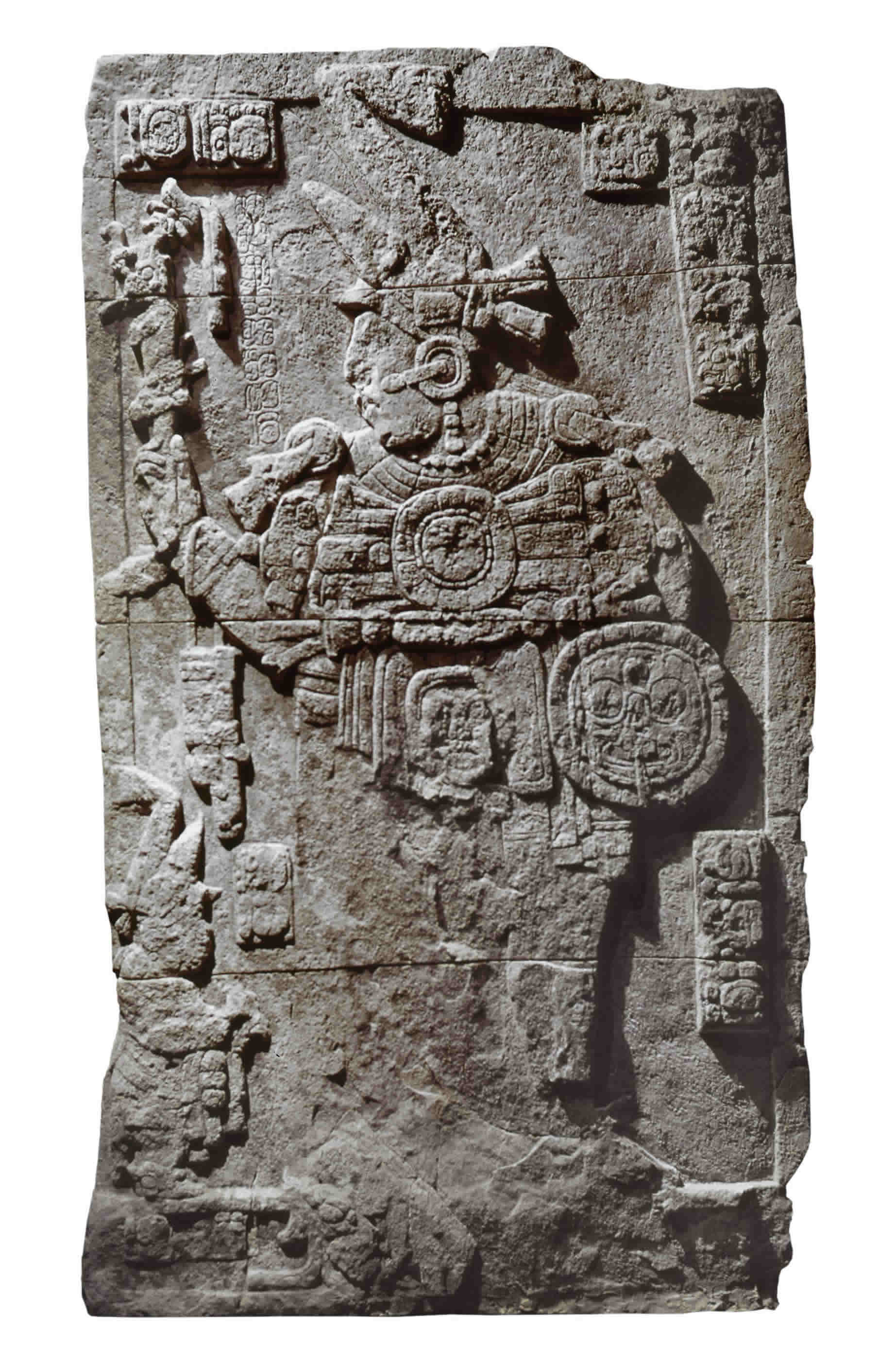 Estela 89 de Calakmul