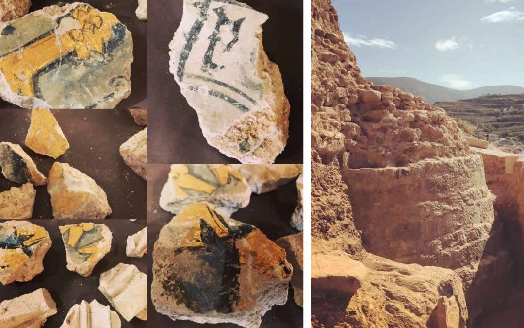 Excavaciones del Castillo de Nalda 00