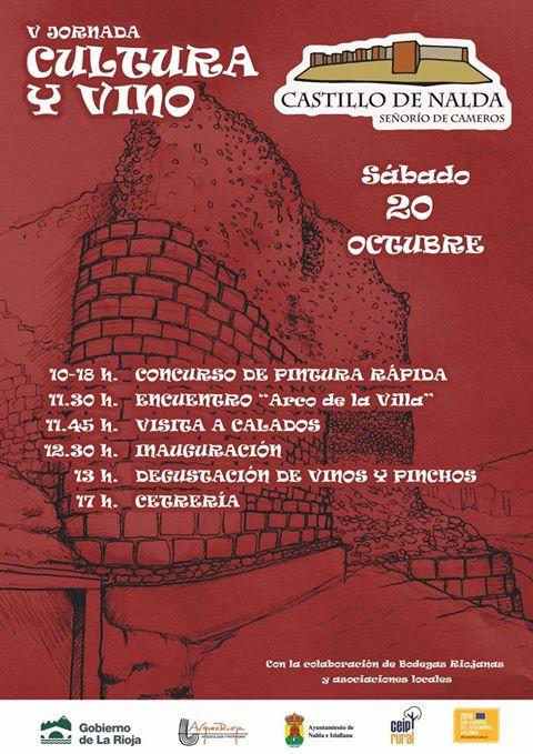 V Jornada de Cultura y Vino Nalda-Islallana 00 ArqueoTrip