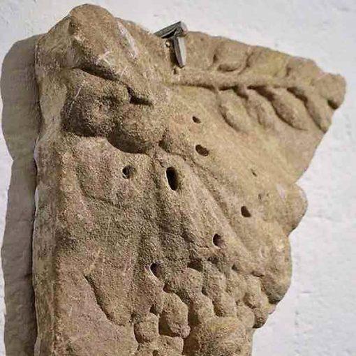Pieza arqueológica del Museo del Agua de Osuna