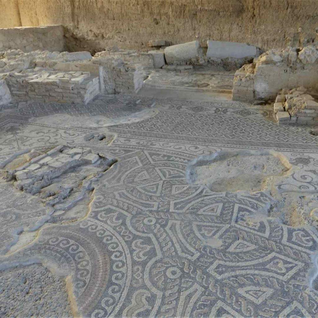 Triclinio de la vlla romana de Salar – Fotografía ArqueoTrip ©