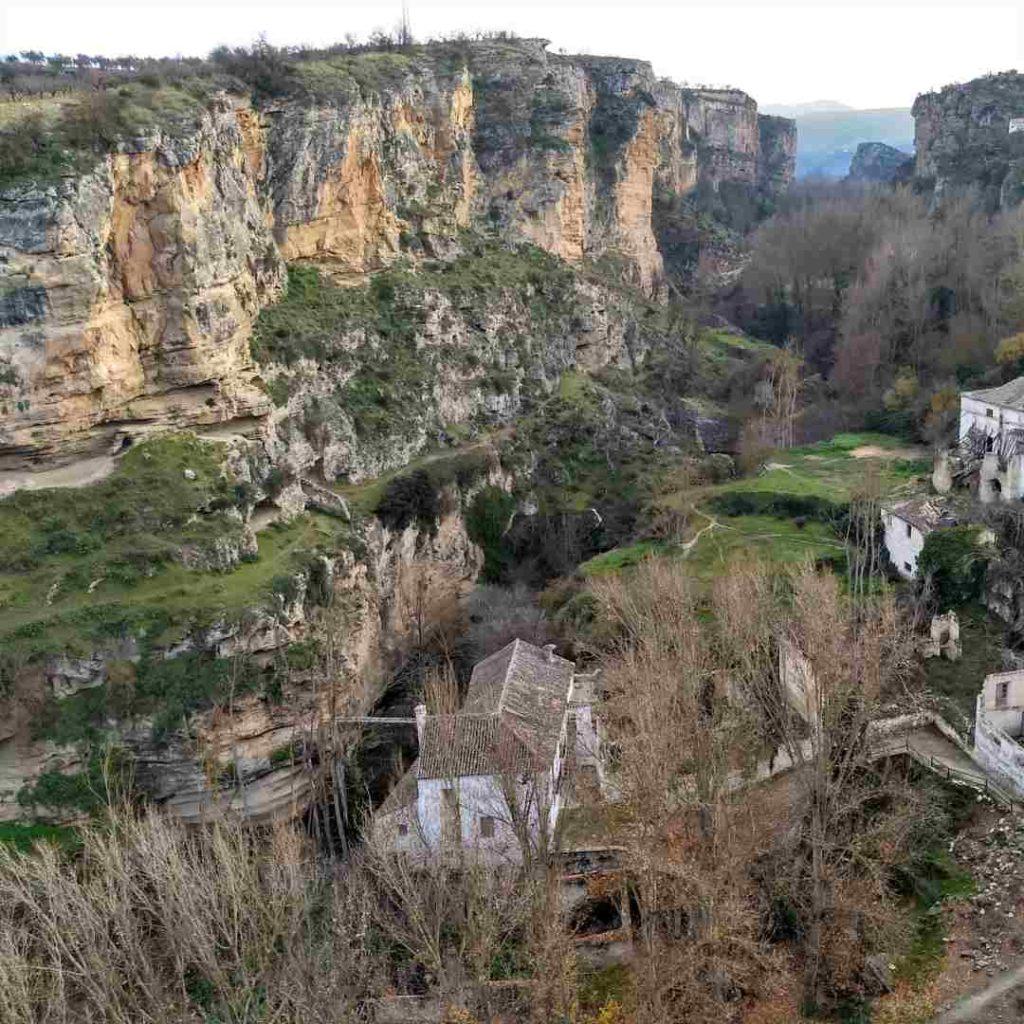 Paraje natural de Los Tajos en Alhama de Granada