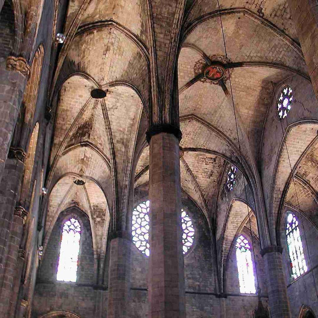 Núria Pujol Visita a la Catedral del Mar