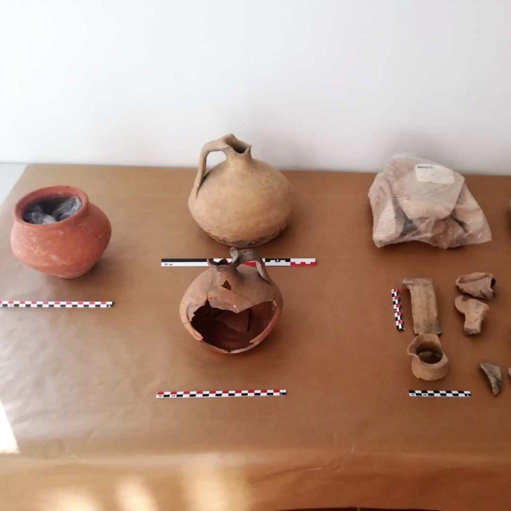 Cerámicas romanas de la colección arqueológica de Casariche