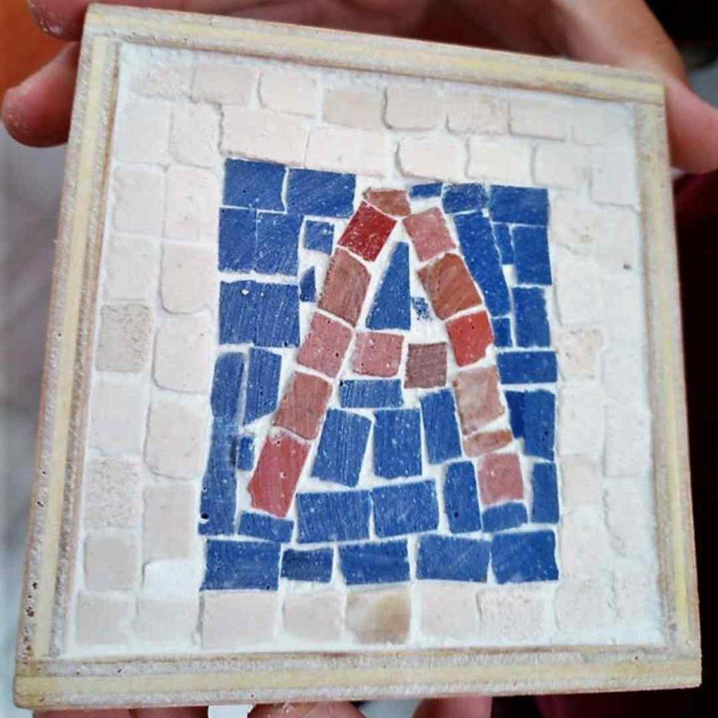 Mosaico elaborado en Actividades infantiles de Casariche