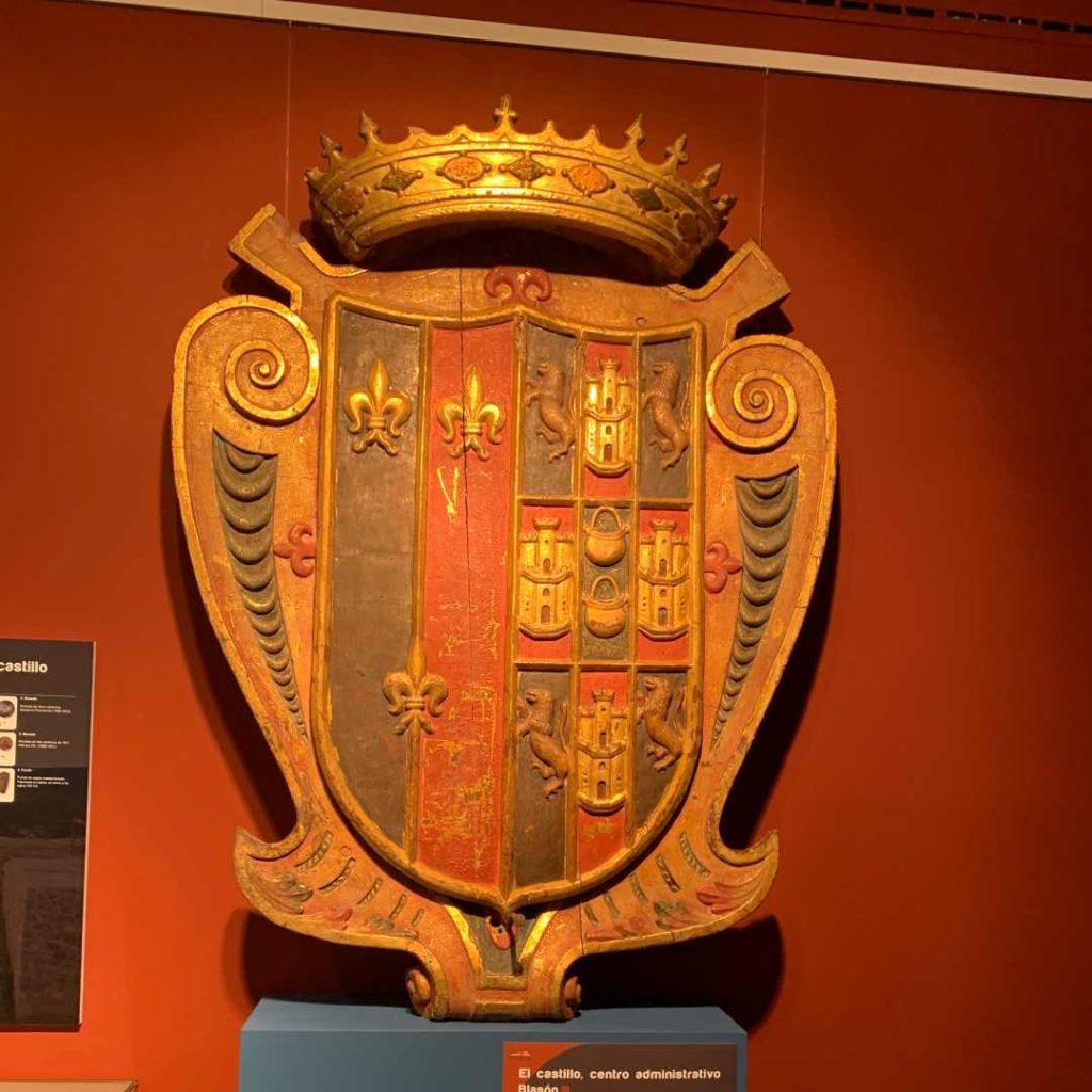 Blasón heráldico, Museo del Ayuntamiento de Nalda e Islallana