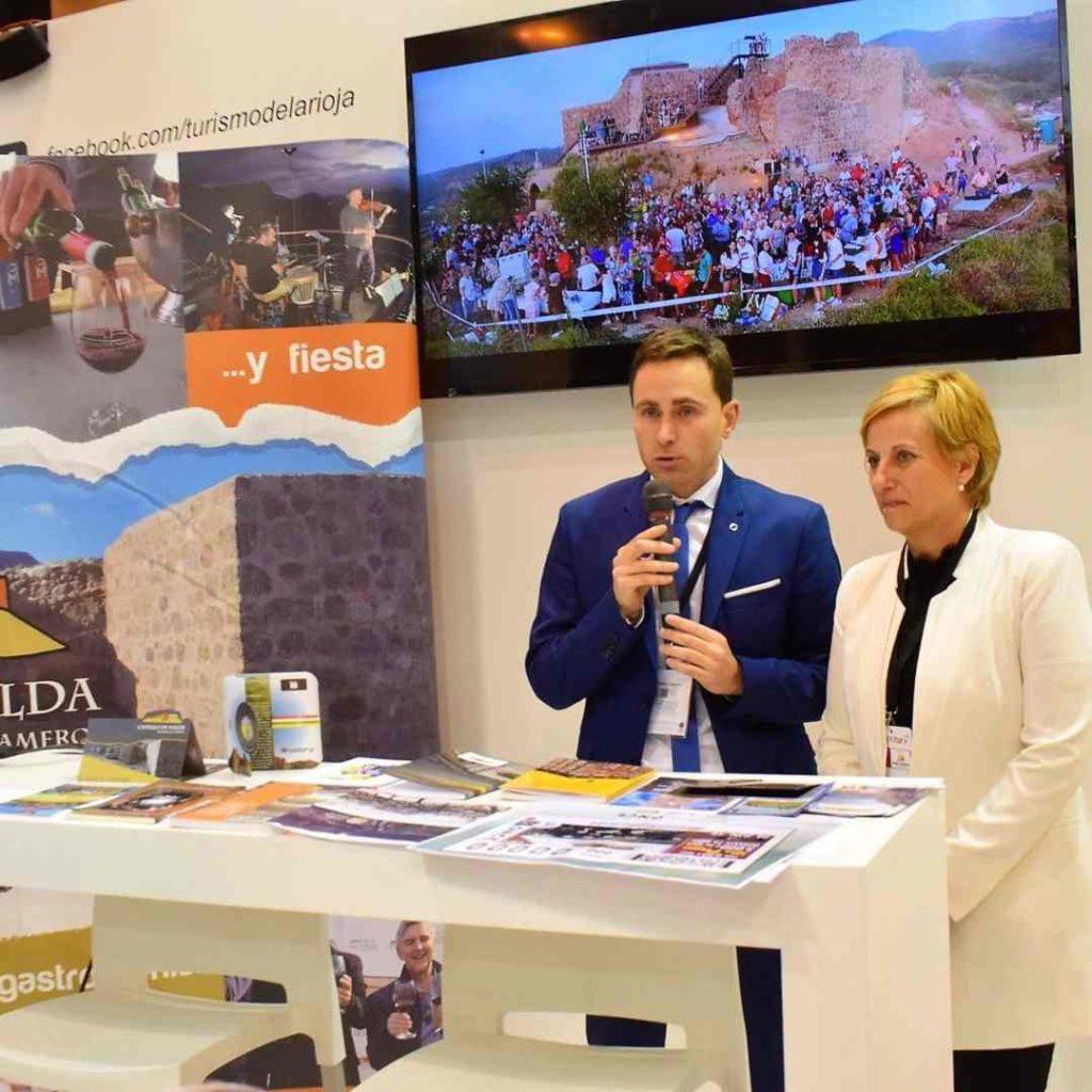 Presentación en Fitur del Ayuntamiento de Nalda – Islallana con el apoyo del Gobierno de la Rioja