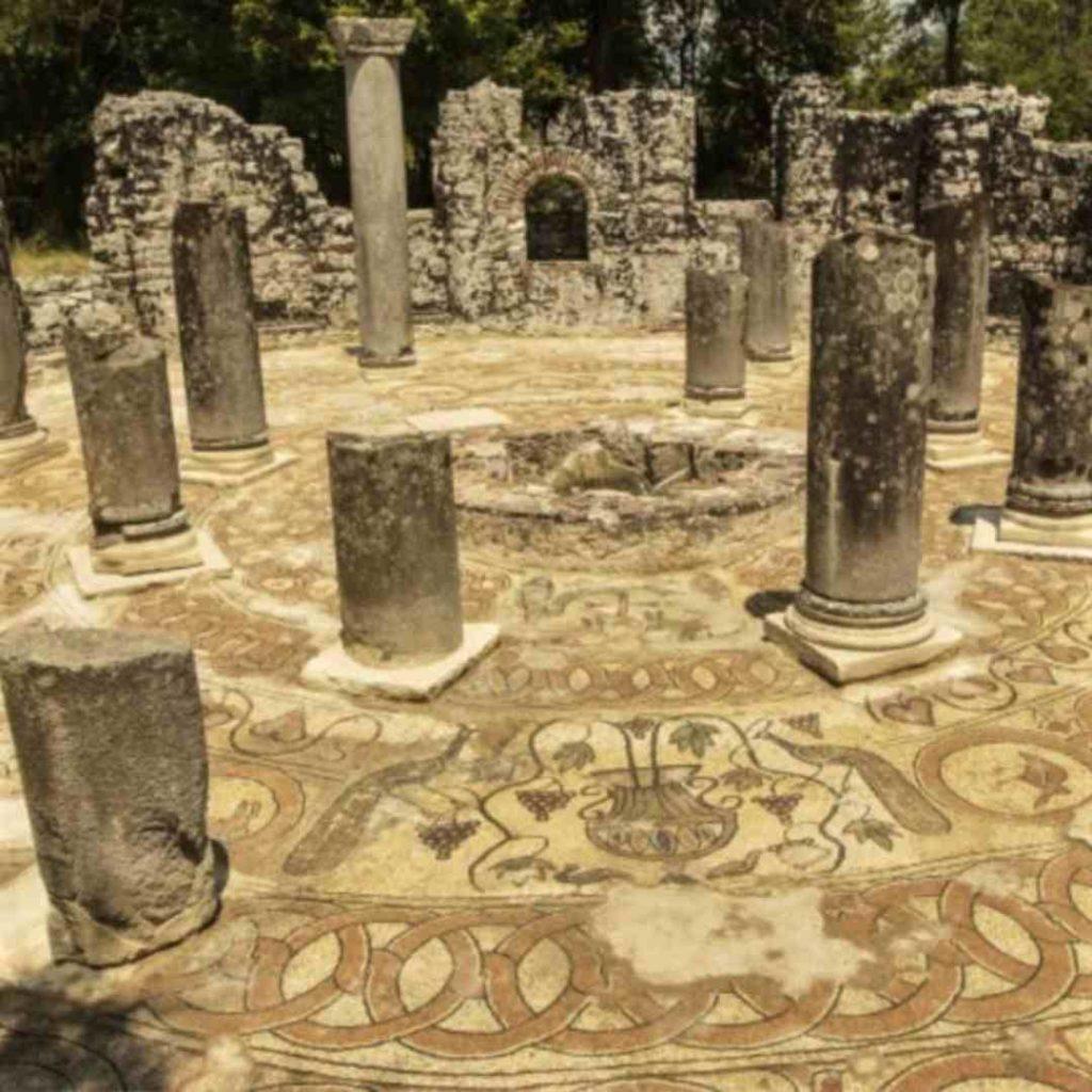 Mosaicos romanos de Albania