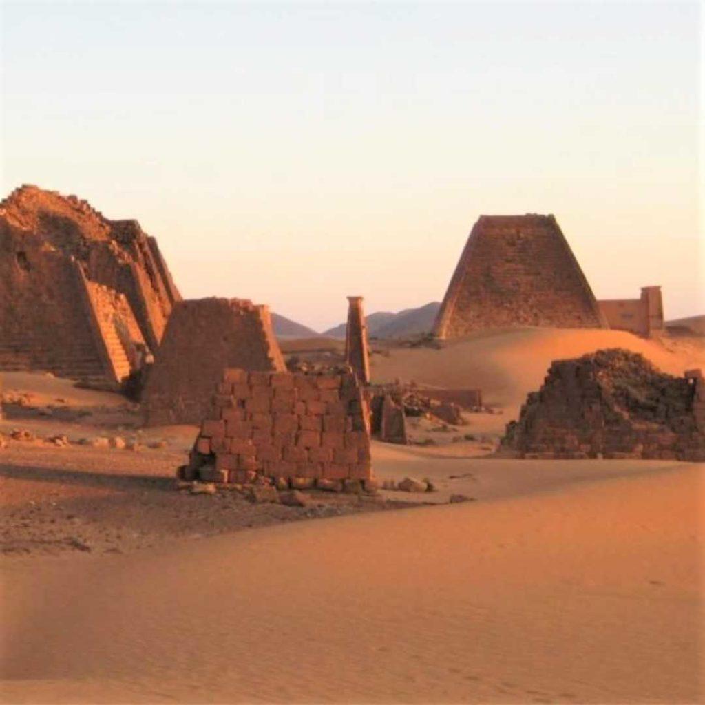 Ruinas arqueológicas de Sudán