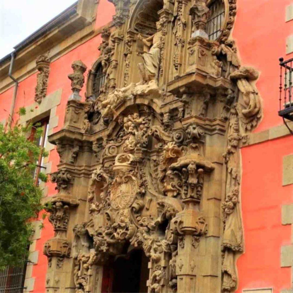 Fachada de Churriguera en el Museo de Madrid