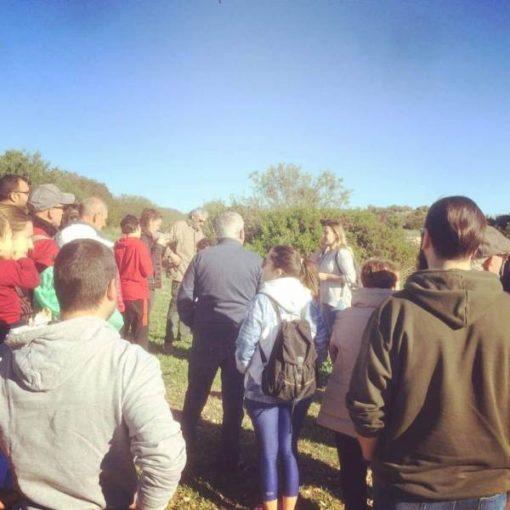 Visita a la ruta de Guerra Civil Española en Riba-roja de Túria