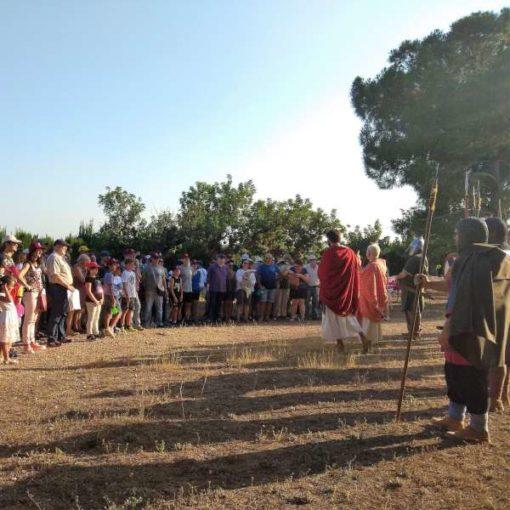 Visita teatralizada sobre el mundo visigodo en Riba-roja de Túria