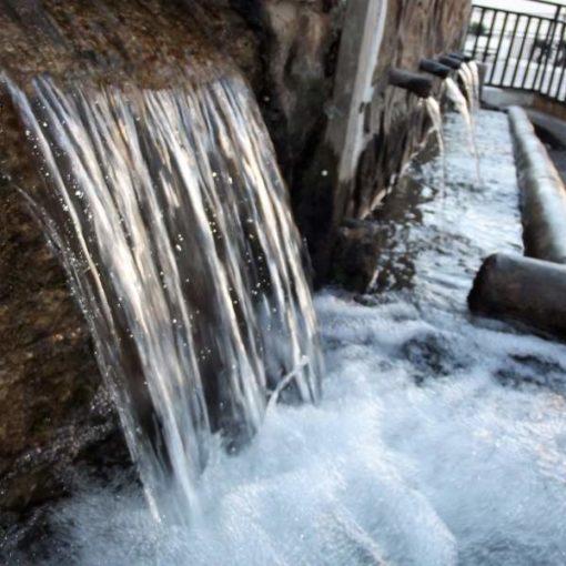 Fuente de agua en Millares